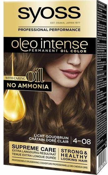 SYOSS Oleo Intense 4-08 licht goudbruin