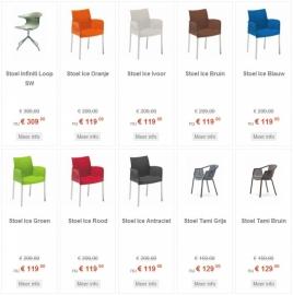 Nog meer keuze in stoelen !