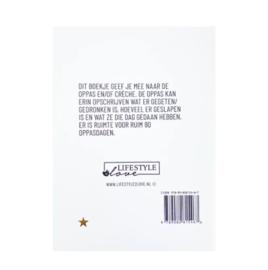 Invulboek Oppasboek   Lifestyle2Love
