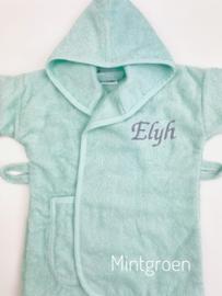 Baby badjas met naam | 0-1 jaar | Jongen