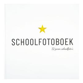 Invulboek Schoolfotoboek  | 12 jaren schoolfoto's