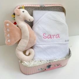 Kraamcadeau koffer Zeepaard | Happy Horse