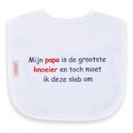 Slab 'Mijn papa is de grootste knoeier'