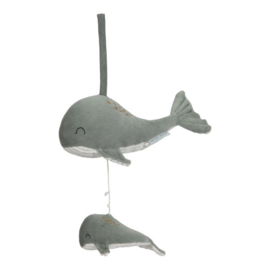 Muziekdoosje walvis mint | Little Dutch