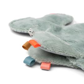 Speendoekje cozy friend Wally blauw | Done by Deer