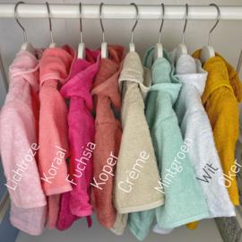 Baby badjas met naam   0-1 jaar   Meisje
