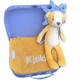 Kraamcadeau koffer | Happy Horse leeuw Luke