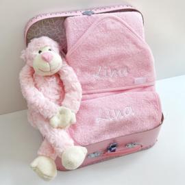 Kraamcadeau koffer Aap