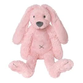 Knuffelkonijn met naam |  Richie roze 38 cm | Happy Horse