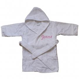 Baby badjas met naam | 1-2 | Meisje