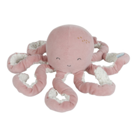 Knuffel octopus roze | Little Dutch