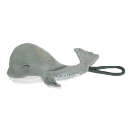 Speenkoord walvis mint | Little Dutch