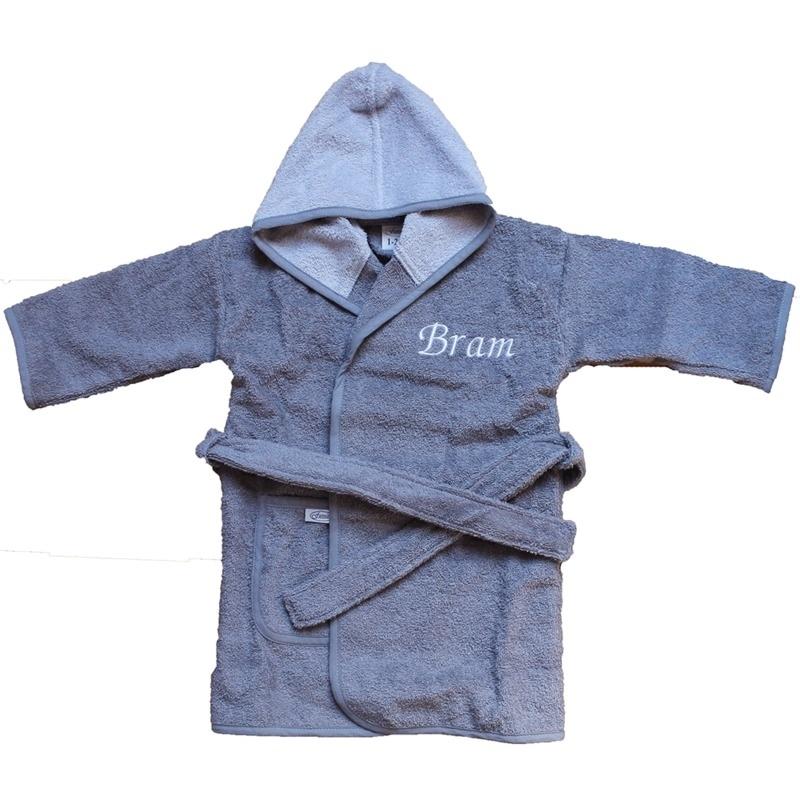 Baby badjas met naam | 1-2 jaar | Jongen