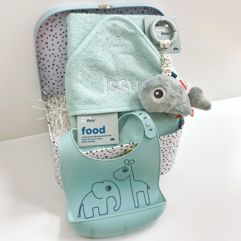 Kraamcadeau koffer Done by Deer