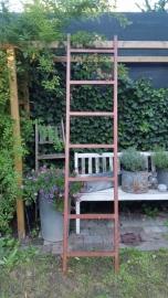 Rood ijzeren ladder