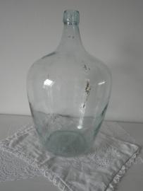 Glazen flesvaas VERKOCHT