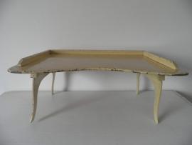 Brocant oud houten bedtafeltje VERKOCHT