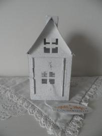 Huisje met schoorsteen voor waxinehouder VERKOCHT