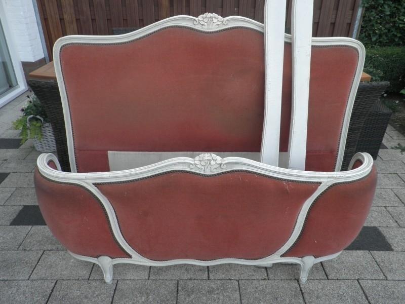 Oud Brocante Bed.Brocant Frans Oud Queen Ann Bed Meubelen Stijl Junkie