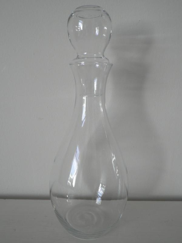 Glazen fles met dop VERKOCHT