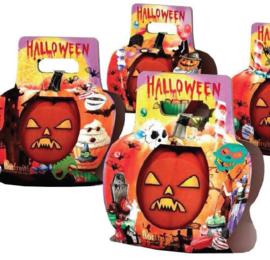 Halloweenpompoen in geschenkverpakking