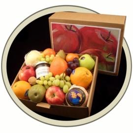 Fruit in a Box met fruit van het seizoen