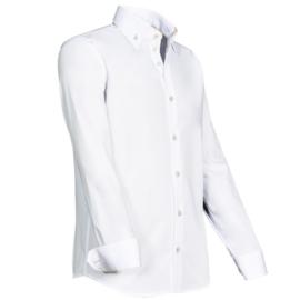 Giovanni Capraro 932 - 43 Overhemd Wit