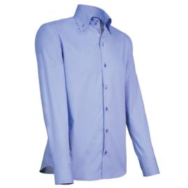 Giovanni Capraro 915 - 39 Overhemd Lichtblauw (Navy Accent)