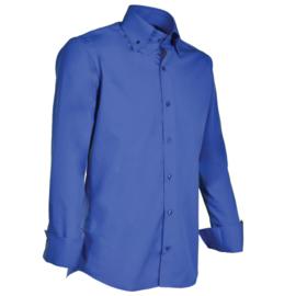Giovanni Capraro 900 - 37 Overhemd Donker Blauw