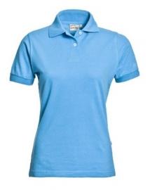 Poloshirt Aqua