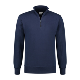 ZIP SWEATER ROSWELL REAL NAVY