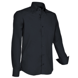 Giovanni Capraro 900 - 20 Overhemd Zwart