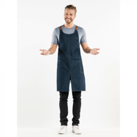 Schort Chaud Devant  Forene Cross Blue Denim