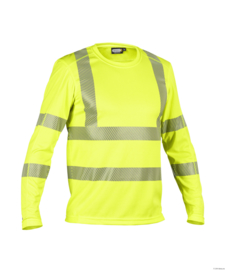 Dassy Carterville Hoge Zichtbaarheid  UV-T-shirt met lange mouw