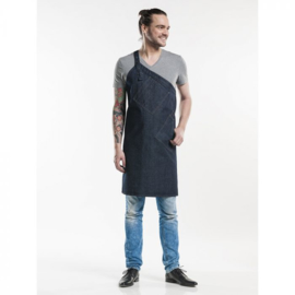 Schort Chaud Devant Skew Blue Denim
