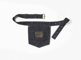 Pocket Riem Blue Denim
