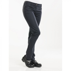 Dames koksbroek Chaud Devant Lady Skinny Black Stretch