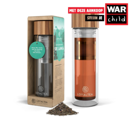 LoyalTea -  Thee To Go infuser - Incl. losse thee