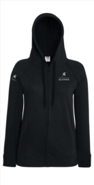Hooded Sweatjacket met rits Dames HSIS