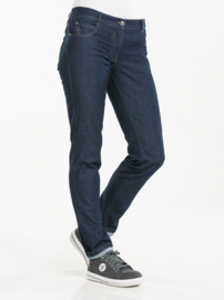 Dames koksbroek Chaud Devant Lady Skinny Blue Denim Stretch