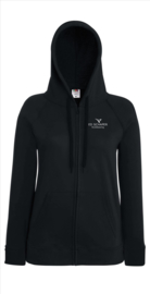 Hooded Sweatjacket met rits Dames ESKB