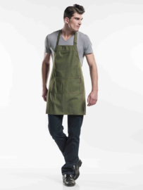 Schort Chaud Devant  Base Green Denim