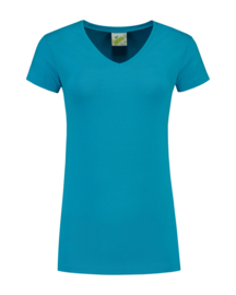 L&S T-SHIRT V-NECK WOMEN