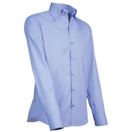 Giovanni Capraro 915 - 10 Overhemd Lichtblauw (Wit Accent)