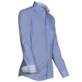 Giovanni Capraro 924 - 34 Overhemd Lichtblauw