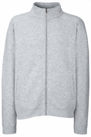 Premium Sweatjacket Heren Fruits of the Loom