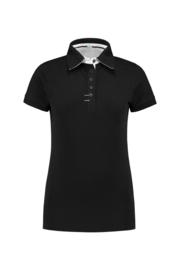 Poloshirt Contrast Dames