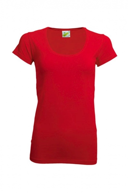 T-SHIRT R-NECK ROOD