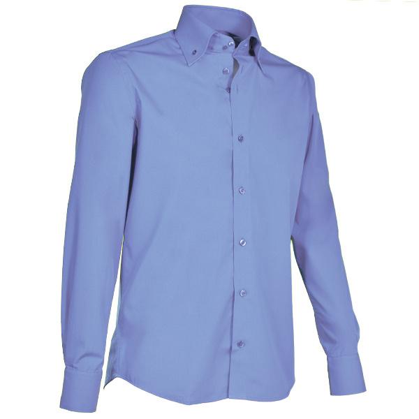 Giovanni Capraro 900 - 33 Overhemd Blauw