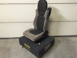 Daf stoel 2 lenden steunen verwarmd